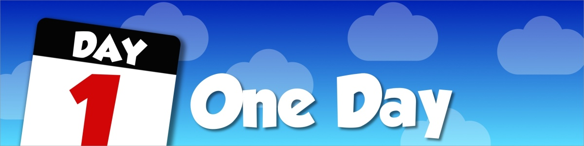 "Counting down with ""One Day"""