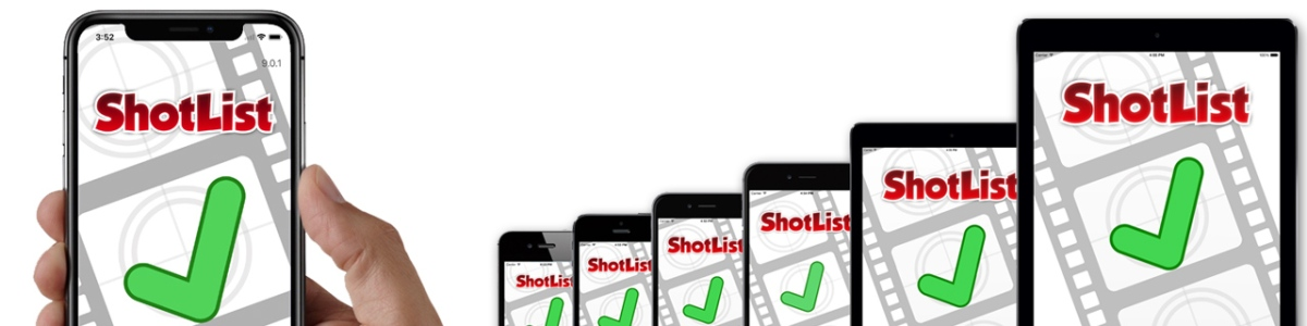 ShotList adds support for iOS11 and iPhoneX