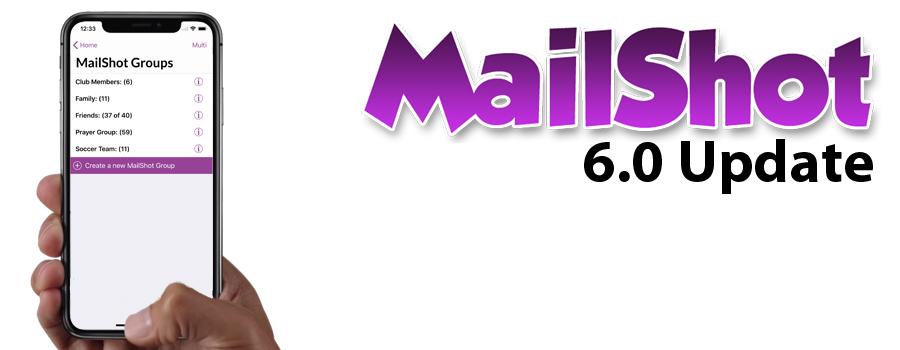MailShot 6.0 Released